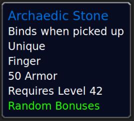 ArchaedicStone