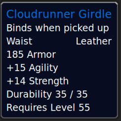 CloudrunnerGirdle