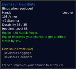 DevilsaurGauntlets