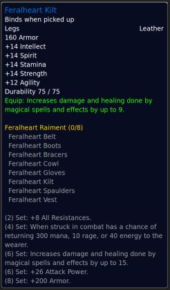 FeralheartKilt