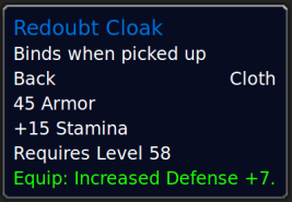 RedoubtCloak