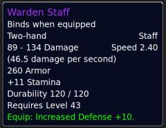 WardenStaff